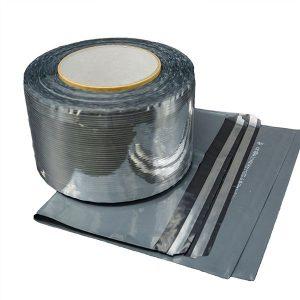 Cinta de aluminio del lacre del bolso del mensajero de las bobinas