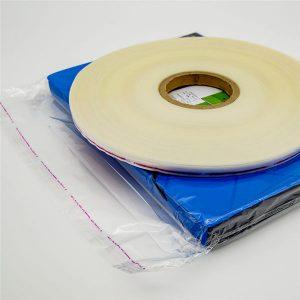 Cinta de sellado de bolsas resellables de plástico OPP
