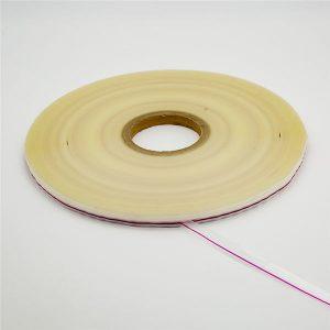 Bolsa de plástico reutilizable que sella la cinta