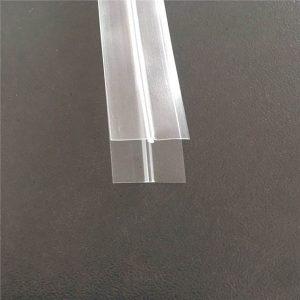 Bolsa de plástico transparente con cremallera